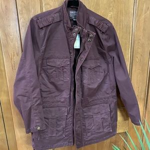 Wine Colored 1X Lucky Brand Jacket